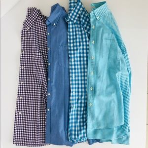 J Crew Mens Large Shirts Lot of 4